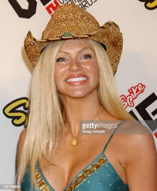 Nikki Ziering during 2005 Spike TV Video Game Awards Arrivals at Gibson Amphitheater in Universal City California United States