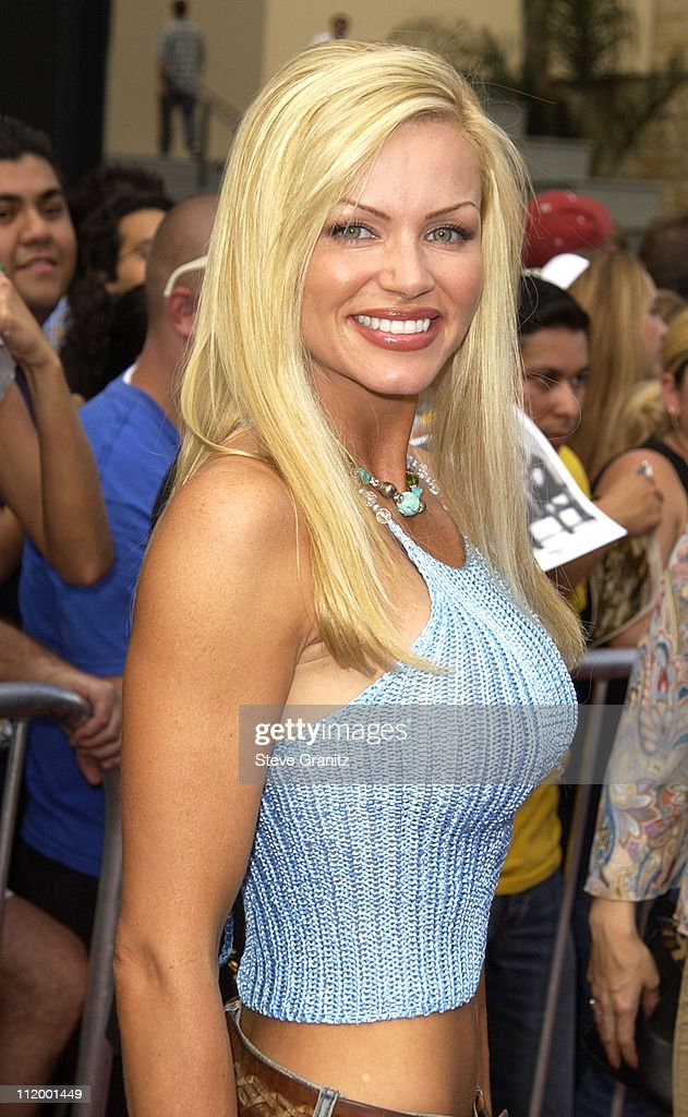 Nikki Ziering during 'American Idol' Season 1 Finale - Results Show - Arrivals at Kodak Theater in Hollywood, California, United States.