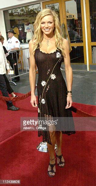 Nikki Ziering during American Wedding Premiere in Universal City California United States