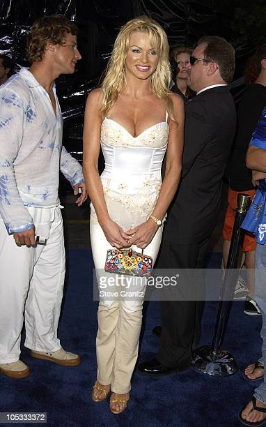 Nikki Ziering During Blue Crush Premiere At Universal Amphitheatre In Universal City California United States