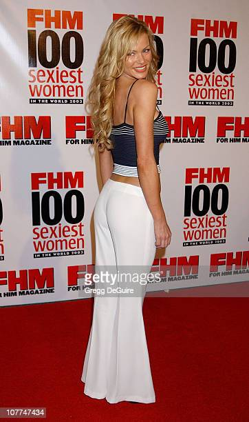 Nikki Ziering during FHM Magazine Hosts The '100 Sexiest Women in the World' Party at Raleigh Studios in Hollywood California United States