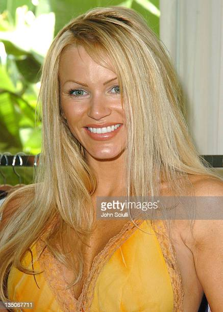 Nikki Ziering during MEE Style Suite at The Shore Club in Miami Florida United States
