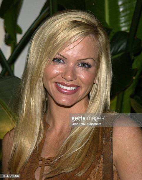 Nikki Ziering during Playboy/XM 'Night Calls' Party at Le Meridien at Le Meridien Hotel in Beverly Hills California United States