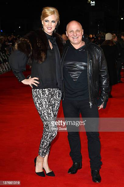 Nikki Zilli and Aldo Zilli attend the world premiere of Woman in Black at the Royal Festival Hall on January 24 2012 in London England