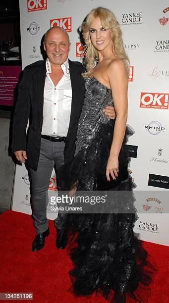 Nikki Zilli attends the OK Magazine Christmas Party held at Floridita Restaurant on November 29 2011 in London England