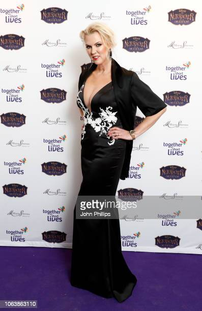 Nikki Zilli attends the Together For Short Livessss 'Nutcracker Ball' at One Marylebone on November 20 2018 in London England Money raised during the...