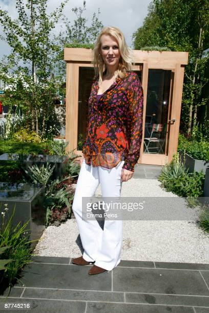 Nikki Zilli attends the VIP day of the Chelsea Flower Show at Royal Hospital Chelsea on May 18 2009 in London England