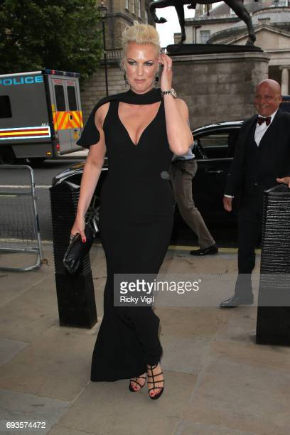 Nikki Zilli attends Together for Short Lives Midsummer Ball at Banqueting House on June 7 2017 in London England