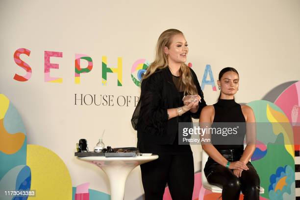 Nikkie de Jager teaches a Masterclass at SEPHORiA House of Beauty – Day One at The Shrine Auditorium on September 07 2019 in Los Angeles California