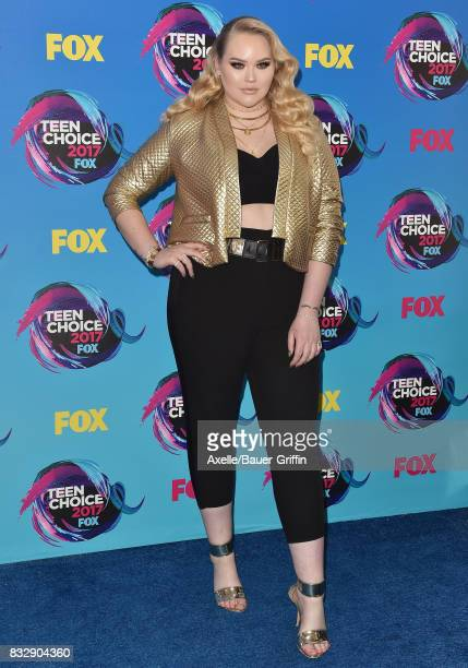 NikkieTutorials arrives at the Teen Choice Awards 2017 at Galen Center on August 13 2017 in Los Angeles California