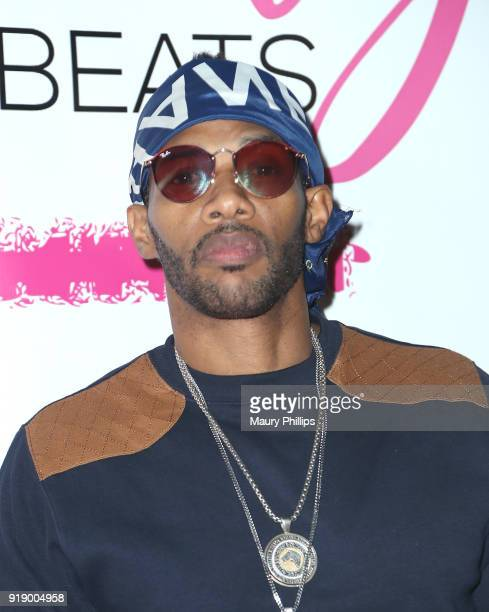 Nikko London attends the 2018 Beauty The Beats Celebrity Party and Panel Discussion at Dream Magic Studios on February 15 2018 in Canoga Park...