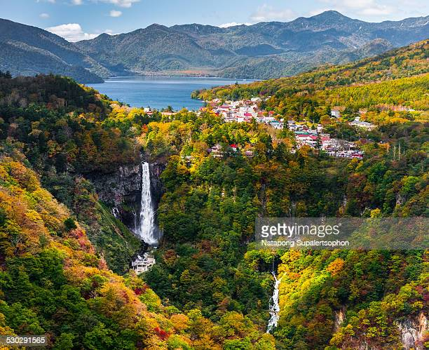 nikko view - kanto region stock pictures, royalty-free photos & images