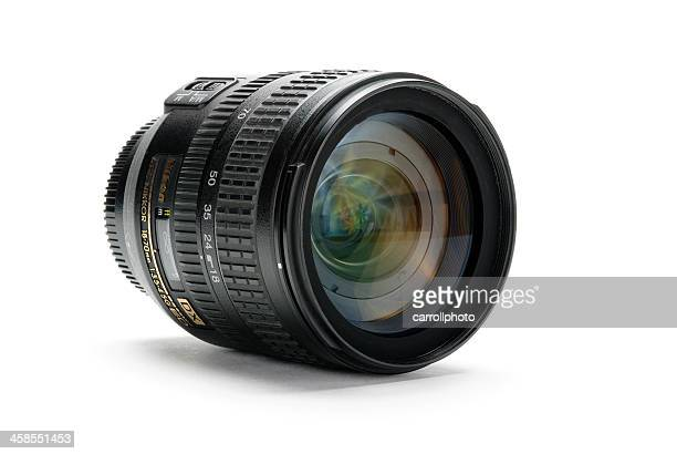 nikkor af-s 18-70mm 1:3.5-4.5g ed zoom lens - nikon stock pictures, royalty-free photos & images