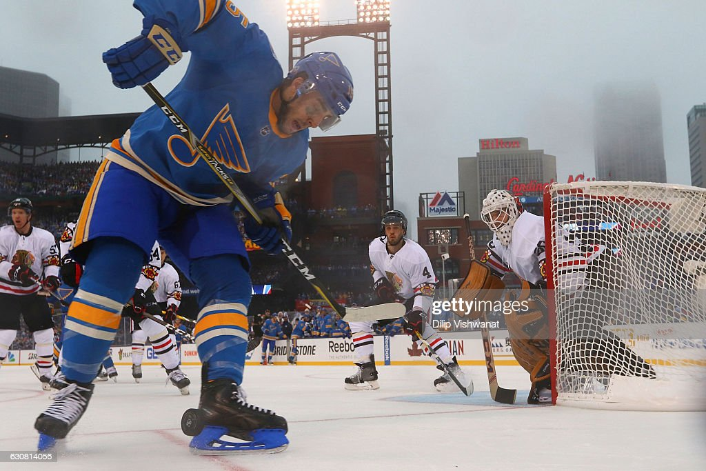 2017 Bridgestone NHL Winter Classic - Chicago Blackhawks v St Louis Blues : News Photo