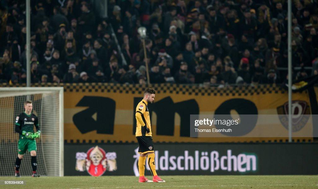 SG Dynamo Dresden v SV Darmstadt 98 - Second Bundesliga : News Photo