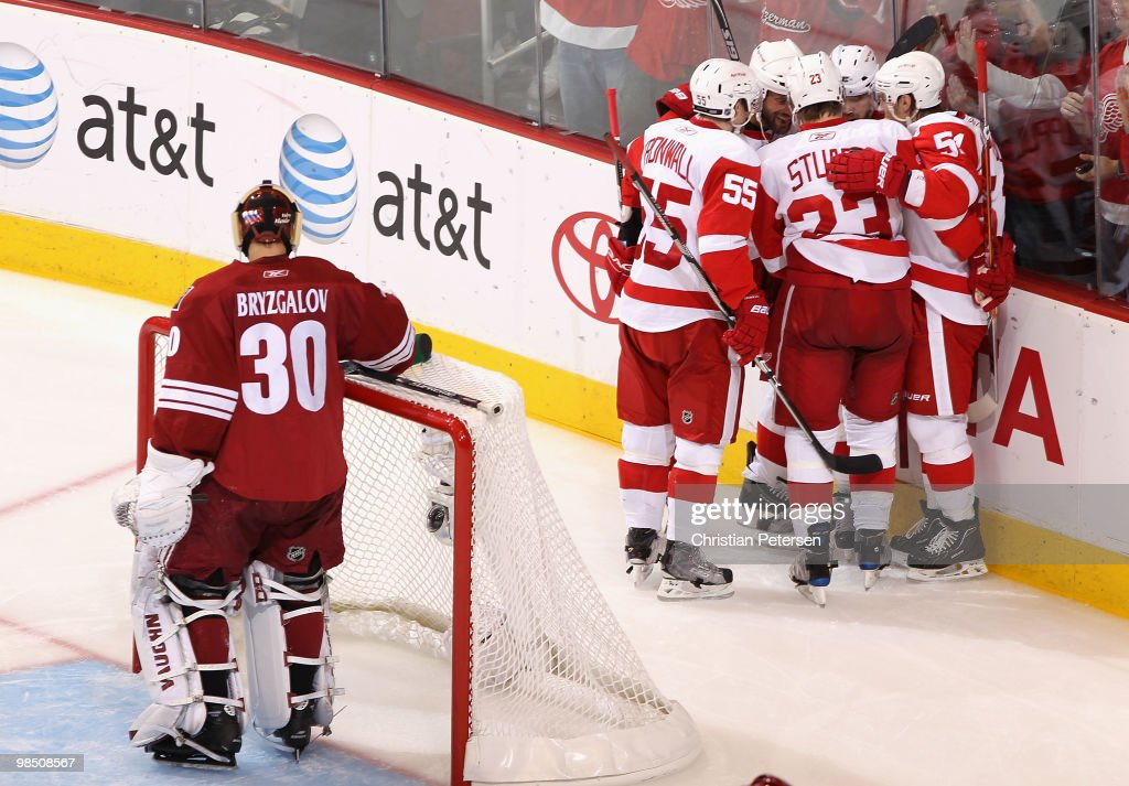Detroit Red Wings v Phoenix Coyotes - Game Two