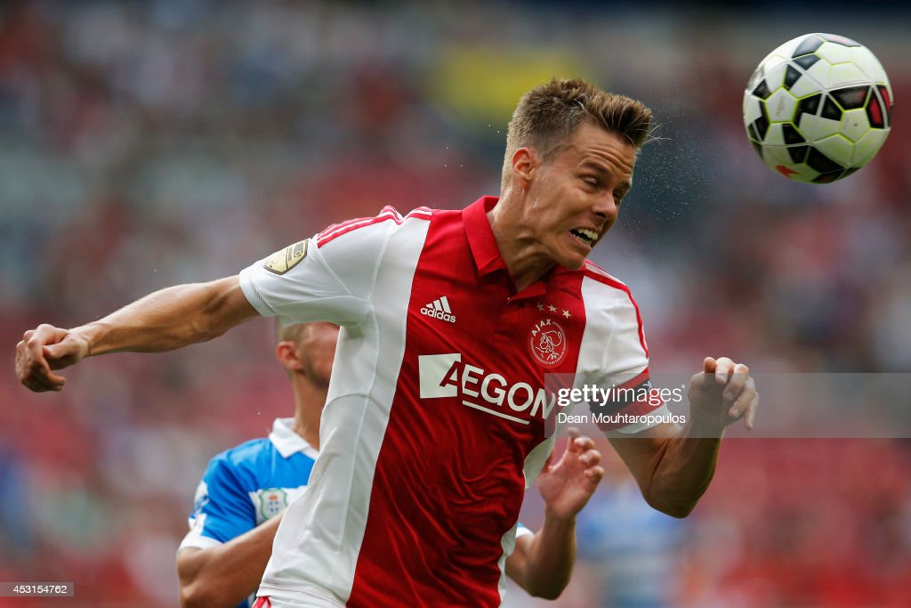 Niklas Moisander of Ajax in action during the 19th Johan Cruijff Shield match between Ajax Amsterdam and PEC Zwolle at the Amsterdam ArenA on August 3, 2014 in Amsterdam, Netherlands.