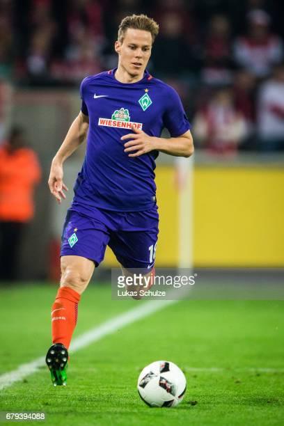 Niklas Moisander of Bremen in action during the Bundesliga match between 1 FC Koeln and Werder Bremen at RheinEnergieStadion on May 5 2017 in Cologne...