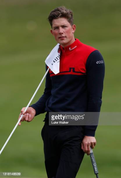 Niklas Norgaard Moller of Denmark looks on on the 17th hole during Day Three of the Range Servant Challenge by Hinton Golf at Hinton Golf Club on May...