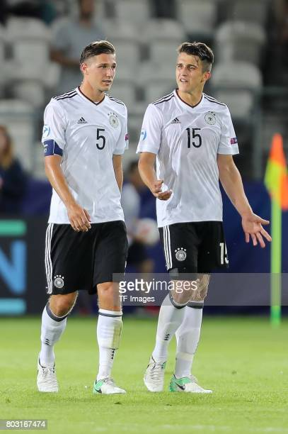 Niklas Stark of Germany MarcOliver Kempf of Germany during the UEFA European Under21 Championship Group C match between Germany and Denmark at Krakow...