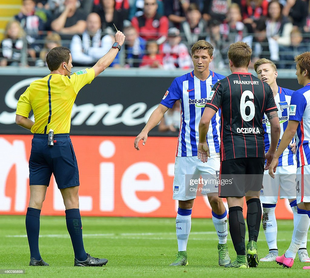 Eintracht Frankfurt v Hertha BSC - 1. Bundesliga : News Photo