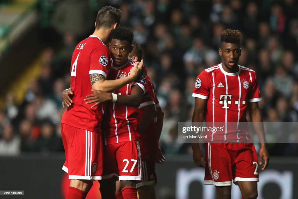 Celtic FC v Bayern Muenchen - UEFA Champions League : News Photo