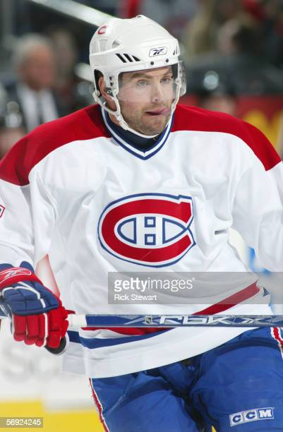 Niklas Sundstrom of the Montreal Canadiens skates during the game against the Buffalo Sabres on February 9 2006 at HSBC Arena in Buffalo New York The...