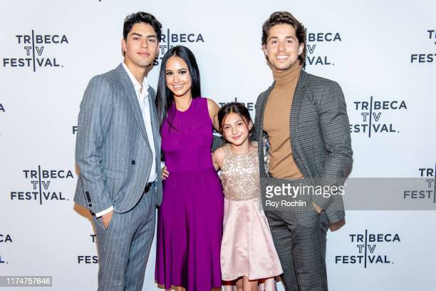 Niko Guardado Emily Tosta Elle Paris Legaspi and Brandon Larracuente attend the Party Of Five screening at the 2019 Tribeca TV Festival at Regal...