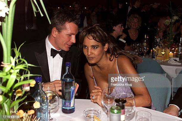 Niko Jordon und Nadja Abd El Farrag Beim 'Ball Der Sterne' In Mannheim Am 201001