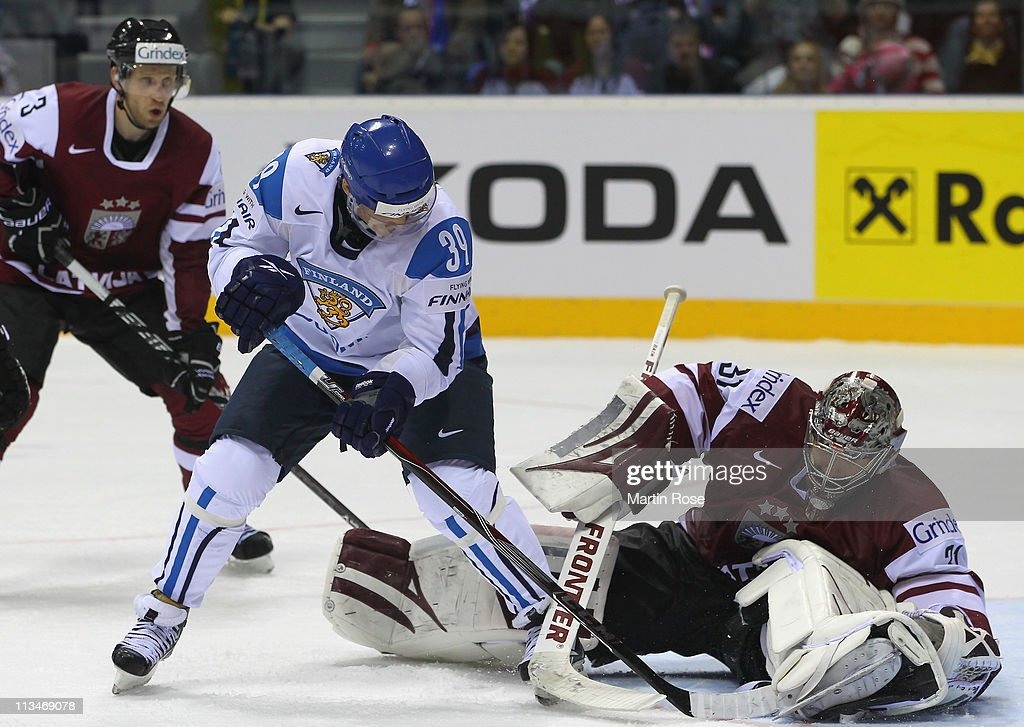 Latvia v Finland: Group D - 2011 IIHF World Championship