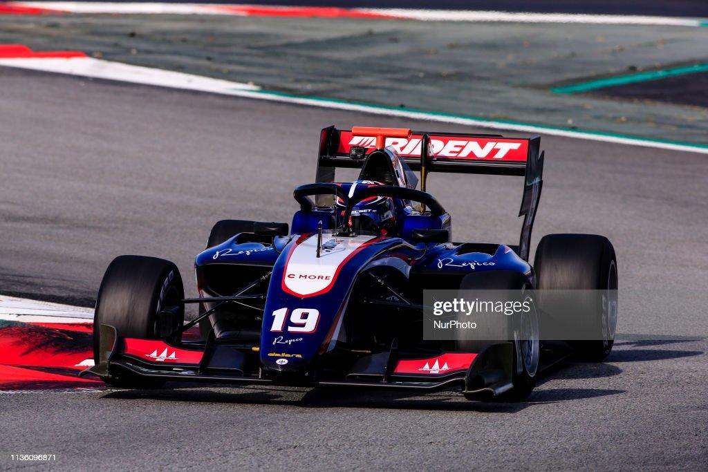 FIA Formula 3 Test - Barcelona : News Photo