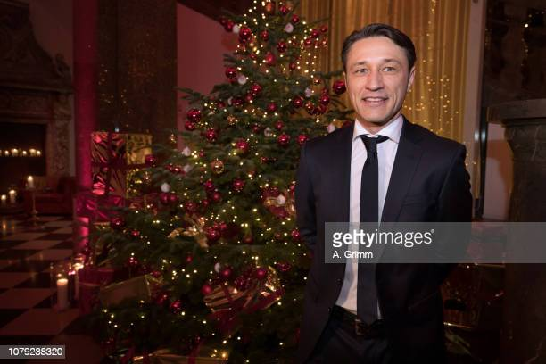 Niko Kovac arrives for the FC Bayern Muenchen Christmas Party at Palais Lenbach on December 08 2018 in Munich Germany