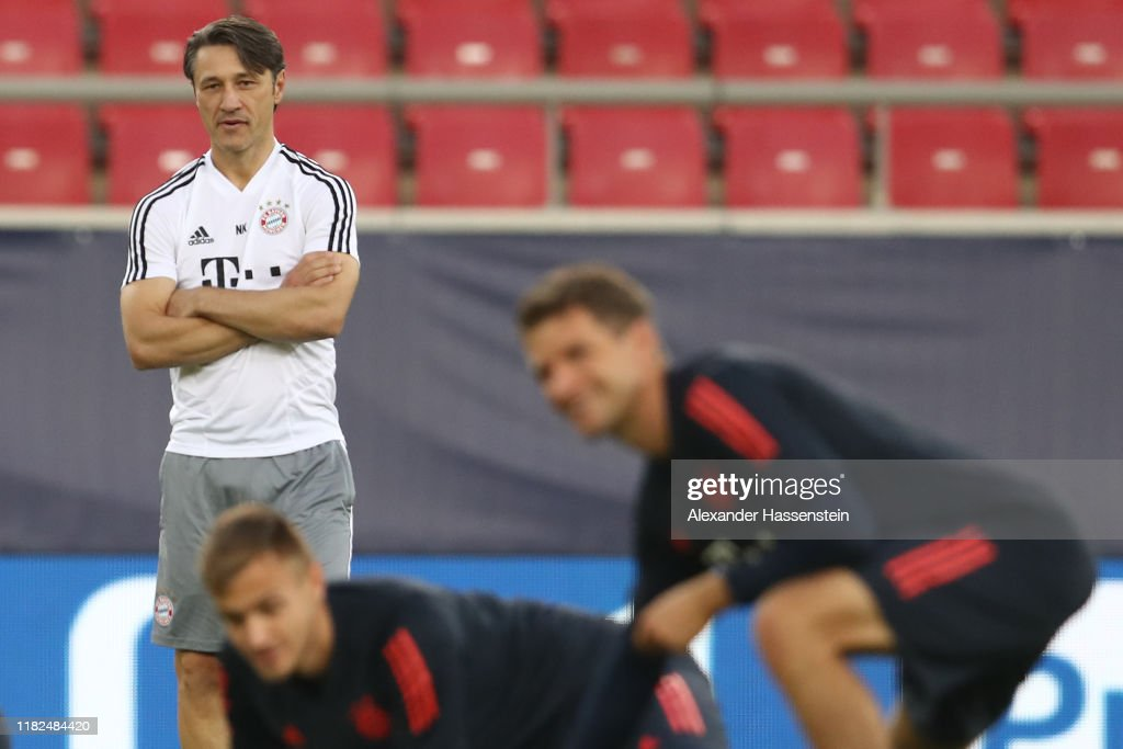 Bayern Muenchen Training And Press Conference : News Photo