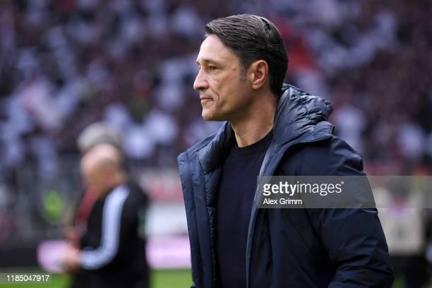 Niko Kovac Head Coach of FC Bayern Munich looks on during the Bundesliga match between Eintracht Frankfurt and FC Bayern Muenchen at CommerzbankArena...