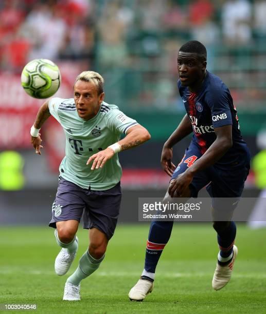 Niko Kovac Manager of Bayern Munich during the International Champions Cup 2018 match between Bayern Munich and Paris SaintGerman at Worthersee...