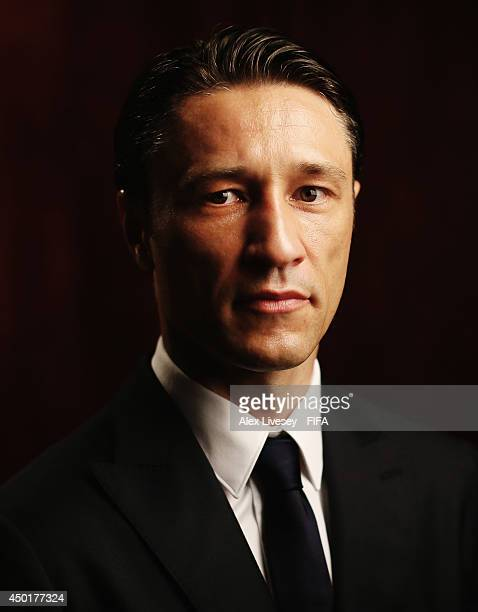 Niko Kovac the coach of Croatia poses during the official FIFA World Cup 2014 portrait session on June 5 2014 in Salvador Brazil