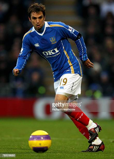 Niko Kranjcar of Pomey in action during the Barlcays Premiership match between Portsmouth and Tottenham Hotspur at Fratton Park on December 15 2007...
