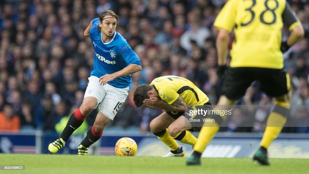 Rangers v Progres Niederkorn - UEFA Europa League First Qualifying Round : News Photo