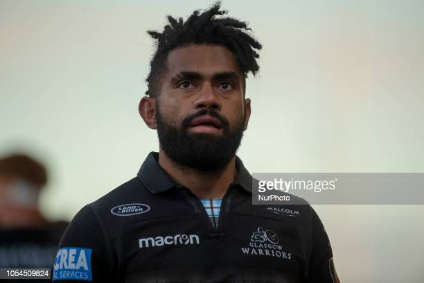 Niko Matawalu of Glasgow looks on during the Guinness PRO14 match between Munster Rugby and Glasgow Warriors at Thomond Park Stadium in Limerick...