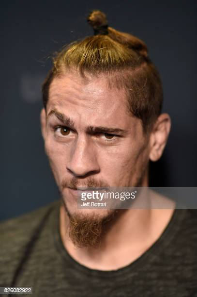 Niko Price poses for a portrait during the UFC Ultimate Media Day at the W Hotel on August 3 2017 in Mexico City Mexico