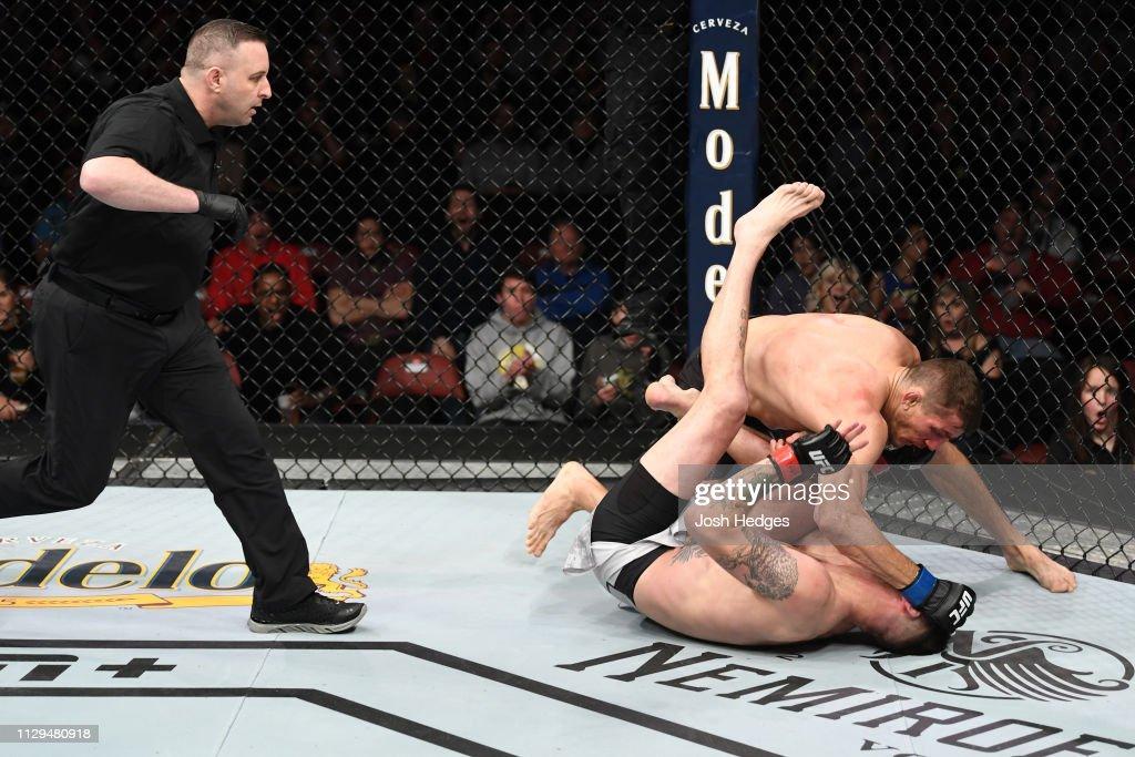 UFC Fight Night: Means v Price : News Photo