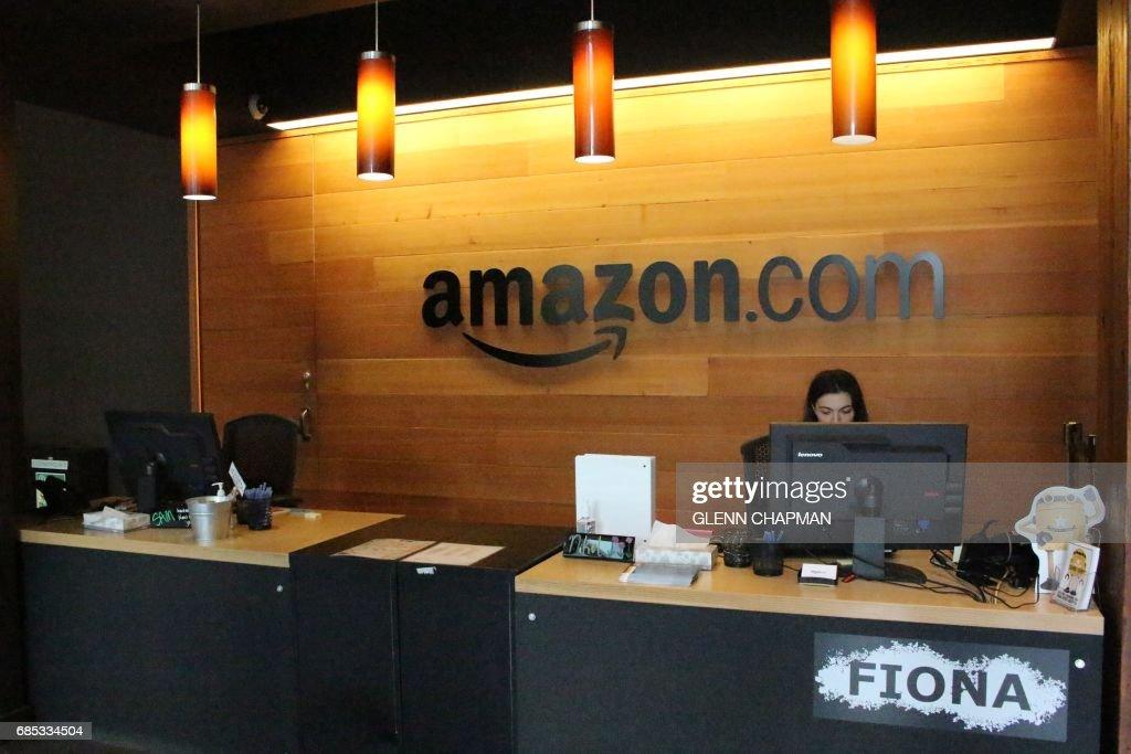 US-IT-AMAZON-OFFICE : News Photo