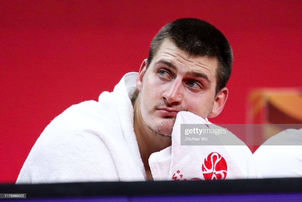 Argentina v Serbia: Quarter Final - FIBA World Cup 2019 : News Photo