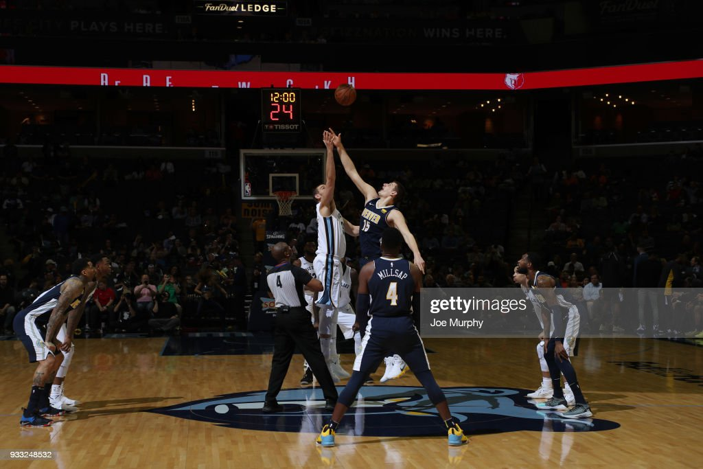 Denver Nuggets v Memphis Grizzlies