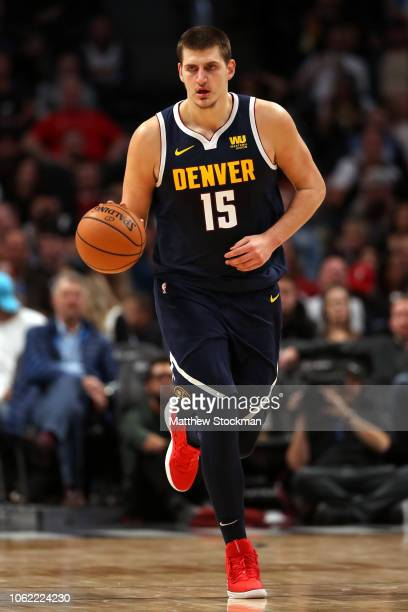 Nikola Jokic of the Denver Nuggets plays the Atlanta Hawks at the Pepsi Center on November 15 2018 in Denver Colorado NOTE TO USER User expressly...