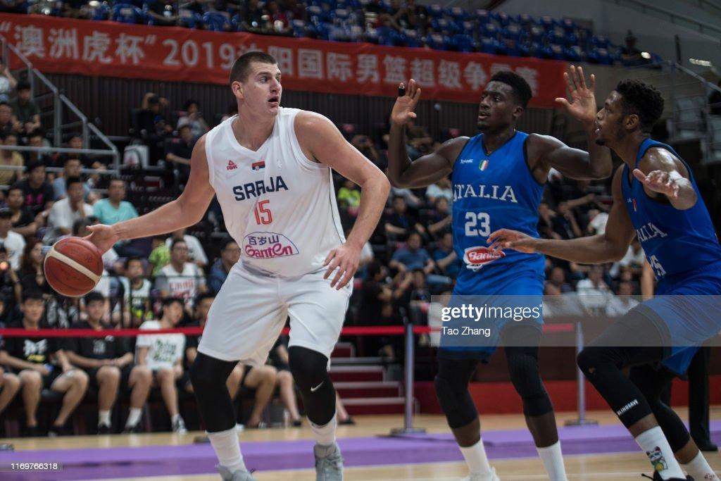 Serbia v Italy - International Men's Basketball Super Tournament 2019 : News Photo
