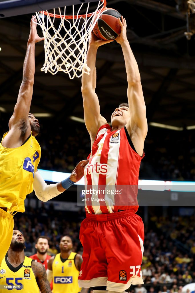 Maccabi Fox Tel Aviv v Crvena Zvezda mts Belgrade - Turkish Airlines EuroLeague