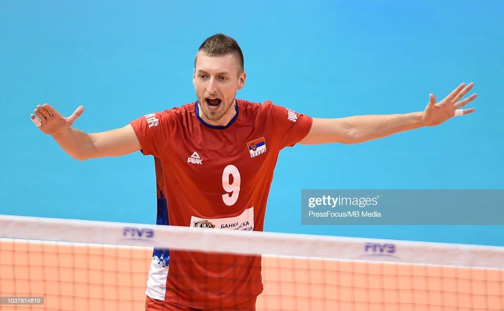 Serbia v Argentina - FIVB world Championships