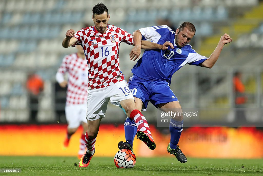 Croatia v San Marino - International Friendly Photos and Images ...