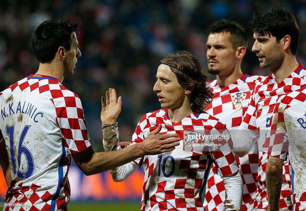 Croatia v Israel - International Friendly : Foto jornalística